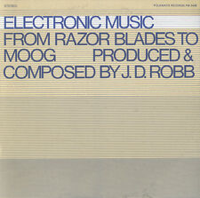 J.D. Robb - Electronic Music: From Razor Blades to Moog [New CD]