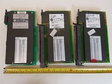 Allen-Bradley 1771-IBD 16-point Input Module Series null and B - Qty 3 - Used