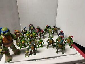 Lot of 25 Vintage Teenage Mutant Ninja Turtles Action Figures - TMNT