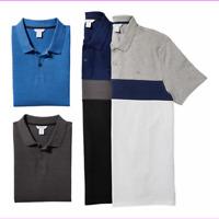 Calvin Klein Men's Short Sleeve Lightweight Textured Polo Shirt
