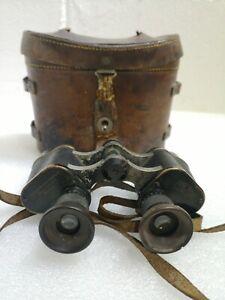 Carl Zeiss London Prismatic No3 MkII 6x Military WW1 1914 Binoculars #251