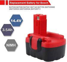 FUNMALL 14.4V 3.5Ah Ni-MH Batterie pour Bosch BAT038 BAT040 BAT041 BAT140 BAT...