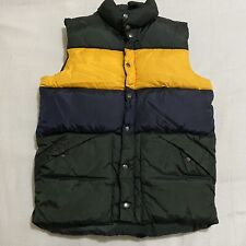 Gap Kids Puffer Vest Polyester Green,  Blue And Yellow Size XXL ( 14-16 )