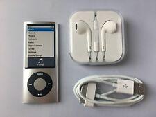 Apple iPod nano 5th Generation Silver (16GB) mint