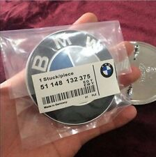 ☆ BMW Emblem 82mm 2Pin  Motorhaube Heckklappe 3er 5er 6er 7er Logo  NEU ☆