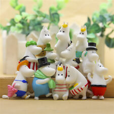 12pcs Moomin Valley Character Figures Snufkin Snorkmaiden Sniff Toy Home Decor