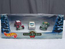 Hot Wheels Vintage Hot Rods Christmas Holiday Set