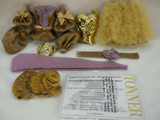 TONNER SYDNEY FANTASY MASQUERADE GIFT SET PURE IMAGINATION DOLL OUTFIT ONLY MINT
