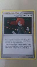 Team Galactic's Mars Pokemon Card UNCOMMON Supporter [SECRET WONDERS]