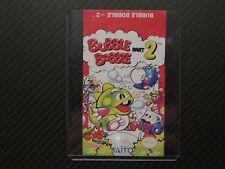 Bubble Bobble Part 2 Nes Replacement Game Label Sticker Precut