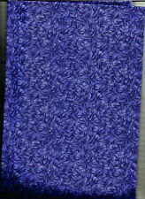 1/2 yard Bamboo tonal purple on cotton.MADE IN THE USA by MDG.