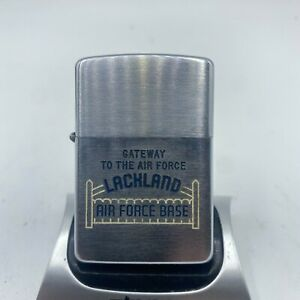1955 Zippo LACKLAND AIR FORCE BASE Very Good Condition