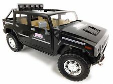 Fully Detailed 1/5 1/6 HUMMER H2 Hard Body Crawler RC Truck Body