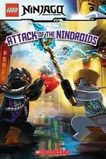 Attack of the Nindroids (Lego Ninjago: Reader) by Kate Howard (Paperback / softback, 2016)