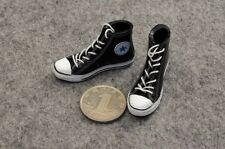 """ZY Toys 1:6 Male Man Straps Canvas Dress Shoes Model Black Fit 12"""" Action Figure"""