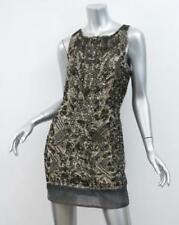 *ICONIC* ALL SAINTS VIPER SEQUIN LEOPARD PRINT COCKTAIL DRESS, SIZE UK8,EU36,US4