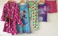 Girls Nightwear Bundle 7-8 Star Wars George Disney TU <H3561z