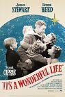 Внешний вид - It's A Wonderful Life movie poster (b) : James Stewart, Donna Reed : 11 x 17