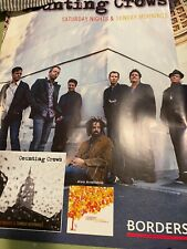 Counting Crows Rare Borders Books Poster To Promote New Album