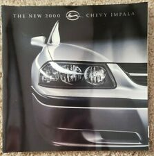 2000 Chevrolet Impala - Sales Brochure - Dealer - Chevy