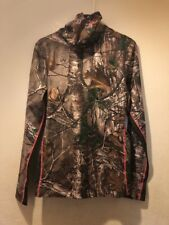 Under Armour Women Camo EVO Scent Control Long Sleeve Realtree Xtra 1247091 LG L