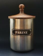 Cuisine 1970 - Boite, Pot Farine / Flour Tin Box - Collector Vintage