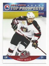 2011-12 AHL Top Prospects Andy Miele (Malmö Redhawks)