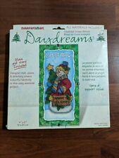New Dimensions Daydreams Snow Greetings Cross Stitch Glass Mat Kit 72866