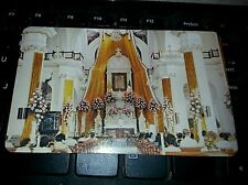 Vintage Interior Parish of Our Lady of Guadalupe postcard Mexico