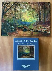 Liberty Wooden Jigsaw Puzzle 🧩 (Complete) - 609 Pieces