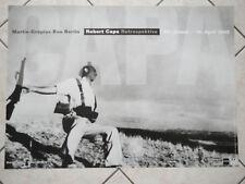 Ausstellungsplakat: Robert Capa - Eine Retrospektive, Gropius-Bau Berlin, 2005