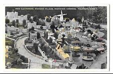Fred Slaymaker's Wonder Village, Wannock Gardens, Polegate, Sussex PPC, Unposted