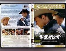 BROKEBACK MOUNTAIN – DVD, REGION-1, NEW AND SEALED, FREE POST IN AUSTRALIA