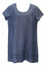 Flax Designs One Tuck Wonderful Tunic / Dress NWT   Denim