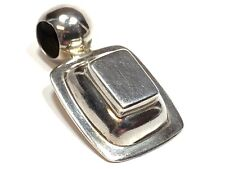 Necklace Pendant - Mexico Beautiful Ladies Solid Sterling Silver
