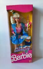 Barbie All American Reebok 1990 NRFB Box New Doll Mattel HTF NIB