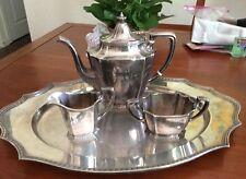 Vintage Gorham Silverplate 4 piece Tea Set