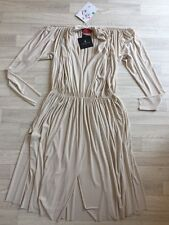 Lanvin Dress LANVIN Ball Gown NEW V NECK  Size 40 cream Runway/catwalk £1400+