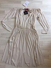 Lanvin Dress LANVIN Ball Gown NEW V NECK  Size 40 cream Runway/catwalk £1400+