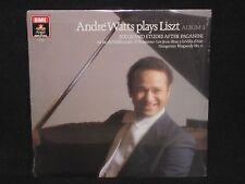 ANDRE WATTS ~ Plays Liszt Album 1 (SEALED) ~ U.S. EMI ANGEL DIGITAL - 1986
