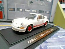 PORSCHE 911 Carrera RS 2.7 weiss white red rot 1973 Ebbro 1:43