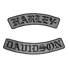 """Harley-Davidson Aufnäher/Emblem """"HARLEY-DAVIDSON"""" Patch Abzeichen *EM022757*"""