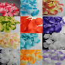 10 - 400 Pcs SILK PETALS DECORATION FLOWER WEDDING TABLE CONFETTI , Synthetic