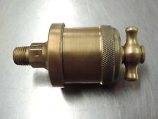 Vintage Brass Lubricator / Oiler - Hit & Miss