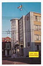 Hôtel de Ville SALABERRY DE VALLEYFIELD City Hall Quebec Canada Postcard