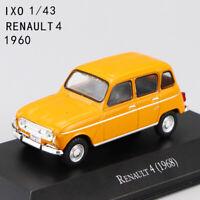 1:43 Scale IXO Toy RENAULT 4 (1968) DIECAST CAR  MODEL