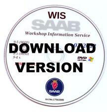 SAAB 9-3 9-4 9-5 WIS workshop service manual, Réparation guide 1998 >> 2012