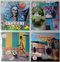 Street Vibes Volumes 1-4 JUMBO Pack Dancehall, Bashment, Urban Reggae