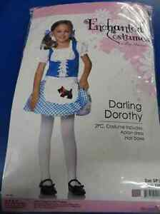 Darling Dorothy Wizard of Oz Country Girl Fancy Dress Up Halloween Child Costume