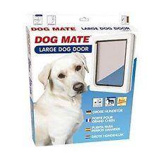 CHATIERE DOG MATE POUR GRAND CHIEN JUSQU'A 630 MM D'HAUTEUR D'EPAULE BLANCHE